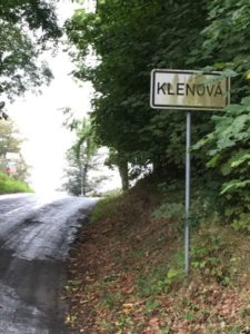 OrtseingangsschildKlenova